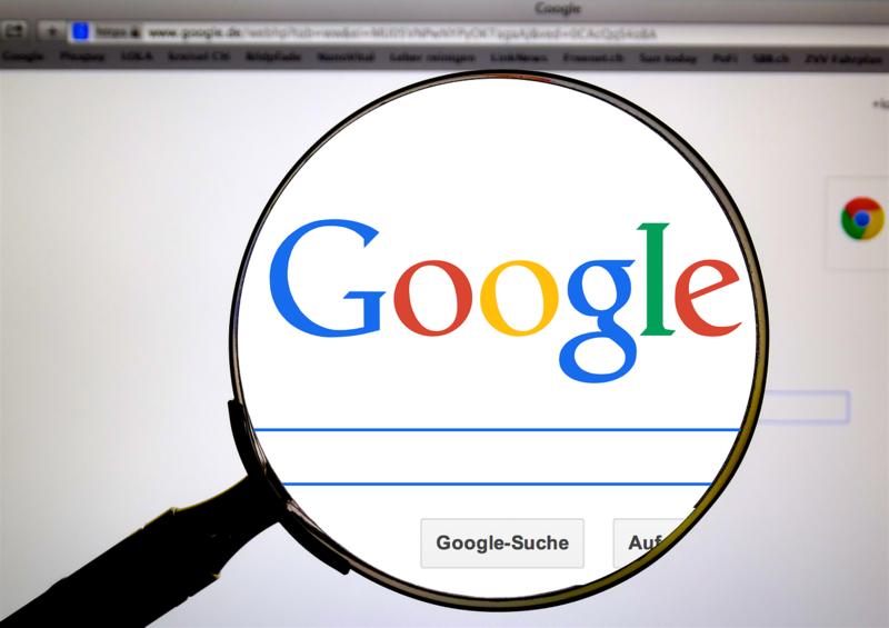 Brève revue de l'action Google