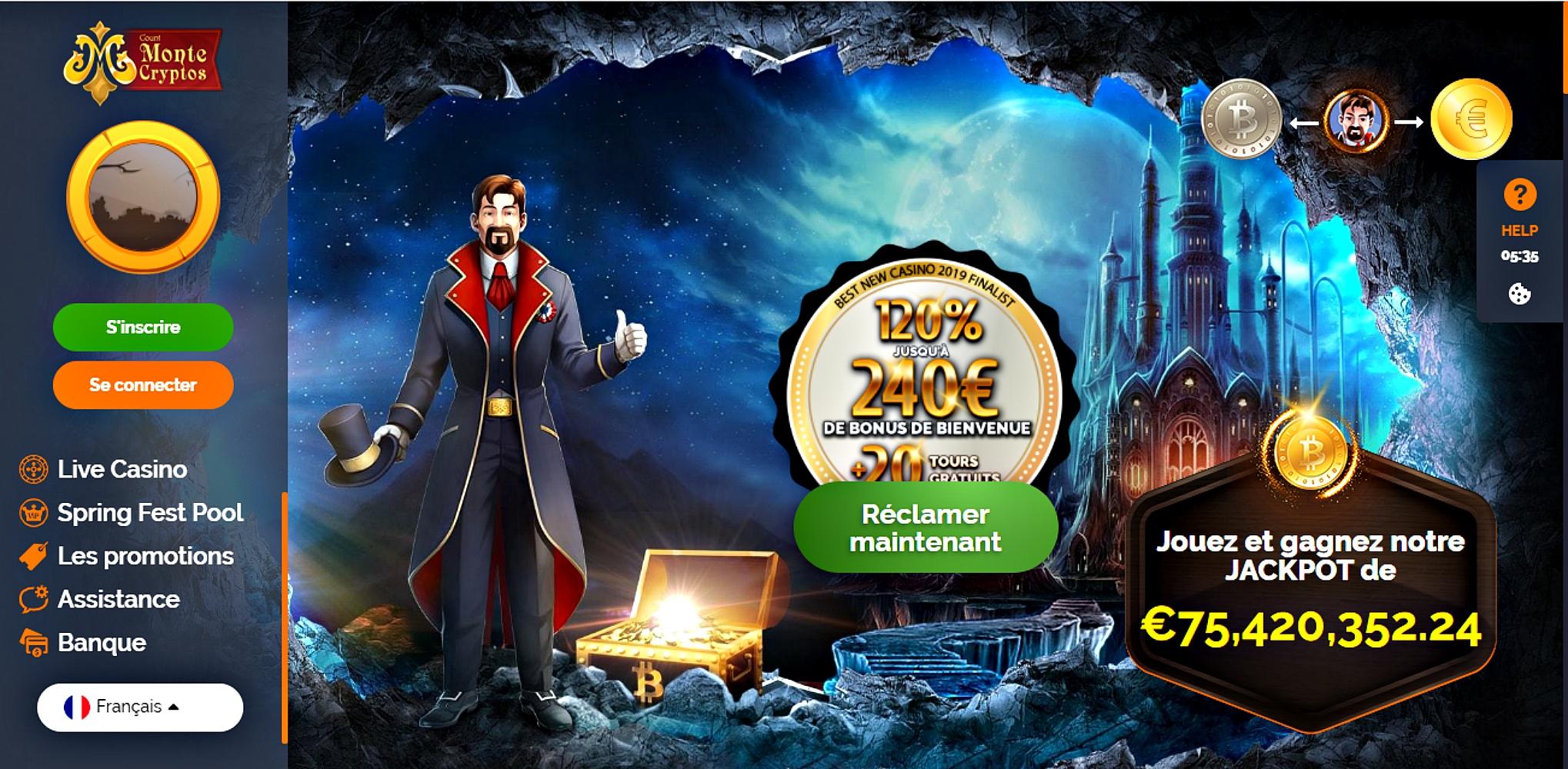 Montecrypto casino avis : la plateforme récente des jeux en ligne