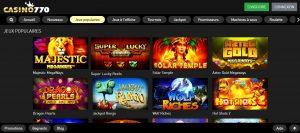 meilleurs jeux casino 770
